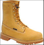 "Carolina Men's 8"" Waterproof Insulated Steel Toe Work Boot-Wheat CA7545"