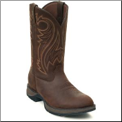 Durango Men's Rebel Chocolate Brown Pull-On Western Boot DB5464 (SKU: DB5464)