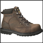 Caterpillar Men's Whiston Boots - Dark Brown 73380 (SKU: 73380)