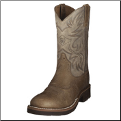 "Ariat Men's Heritage Crepe 11"" Western Boots - Earth/Brown Bomber 10002559"