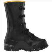"LaCrosse Men's/Women's 00267140 ZXT Buckle Deep Heel Overshoe 14"" Black (SKU: 00267140)"