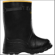 "LaCrosse Men's 00300060 Utah Brogue Overshoe 12"" Black"