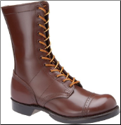 "Corcoran Men's 10"" Historic Military Jump Boot- Brown Leather 1510 (SKU: 1510)"
