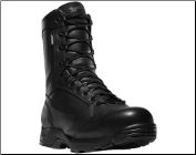"Danner Men's Striker Side-Zip 8"" Leather Uniform Boots - Black 43031"