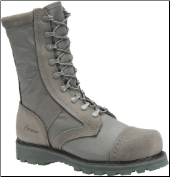"Corcoran Men's 10"" Roughout Leather and Cordura Maraurder with Steel Toe-Sage Green 87546FR"