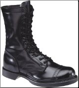 "Corcoran Men's 10"" Military Jump Boot-Black Leather 975"