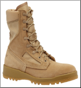 Belleville Mens Hot Weather Flight & Combat Vehicle (Tanker) Boots-Tan 340 DES (SKU: 340 DES)