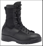 Belleville Mens Waterproof Combat & Flight Boots-Black 700