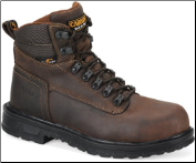 "Carolina Men's 6"" Aluminum Toe Work Boot-Brown CA9559"
