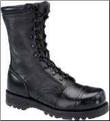 "Corcoran Men's 10"" Steel Safety Toe Field Military Boot - Black Leather XCS2525"
