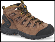 "Carolina Men's 6"" WP Carbon CT Hiker 4x4 - Dark Brown CA4525"