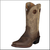 Ariat Men's Heritage Roughstock Square Toe- Earth 10002230 (SKU: 10002230)