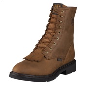 "Ariat Men's Cascade 8"" Work Boots - Aged Bark 10002418 (SKU: 10002418)"