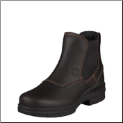Ariat Women's Barn Yard Twin Gore H2O-Dark Brown 10003574 (SKU: 10003574)