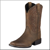 Ariat Youth Quickdraw Kids-Distressed Brown 10004853