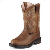 Ariat Women's Tracey Pull-On Composite Toe-Dusted Brown 10008634