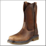 Ariat Men's Rambler Work Pull-On Steel Toe-Earth/Brown 10008642
