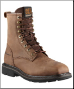 "Ariat Men's Cascade 8"" Wide Square Steel Toe - Alamo Brown 10011917"