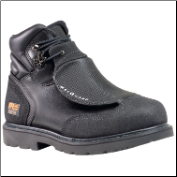 Timberland PRO Men's Met Guard Work Boots with Ever-Guard Black Leather 40000