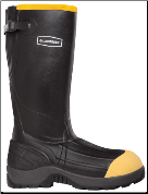 "LaCrosse Men's 426050 Insulated Alpha Aggressive 16"" Black 800G NMT (SKU: 426050)"
