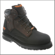 "Timberland PRO Men's Waterproof Power Welt 6"" Steel Toe Boot Brown 47001 (SKU: 47001)"