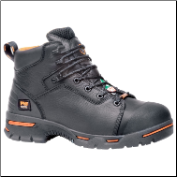 "Timberland Pro Men's Endurance 6"" Steel Toe - Rustler Black 47592"