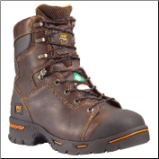 "Timberland PRO Men's Endurance PR 8"" Steel Toe Briar Full-Grain 52561"