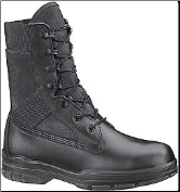 "Bates Women's 8"" Tropical Seals Durashocks-Black - E00724"