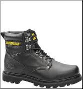 Caterpillar Men's Second Shift Safety Boots – Black 89135 (SKU: 89135)