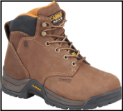 "Carolina Women's 5"" Aluminum Toe Internal Metguard-Brown CA1428"