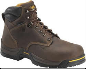 "Carolina Men's 6"" Composite Waterproof Insulated Broad Toe-Dark Brown CA5521"