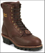 "Chippewa Men's 8"" Briar 400g Thinsulate Waterproof Steel Toe Logger Boot 73060"
