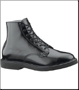 "Bates Men's Lites 6"" Leather Lace-Up Chukka - Black E00058"