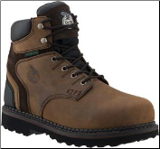 Georgia Men's Brookville ST WP Work Shoe - Brown G7334