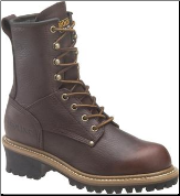 Carolina Women's Steel Toe Logger-Brown CA1421