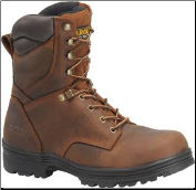 "Carolina Men's 8"" Waterproof Steel Toe Work Boot-Brown CA3524"