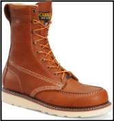 "Carolina Men's 8"" Domestic Moc Toe ST Wedge Work Boot CA7502 (SKU: CA7502)"