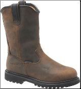 "Carolina Men's 10"" Waterproof Internal Met Wellington-Brown CA8533"